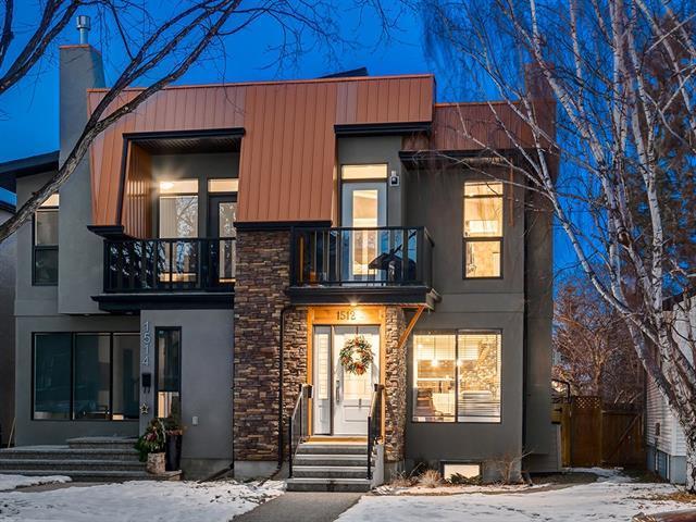 1512 23 Avenue NW, Calgary, AB T2M 1V1 (#C4219708) :: Canmore & Banff