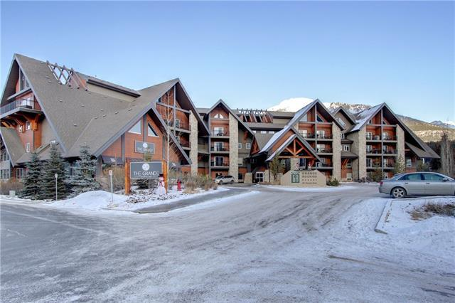 901 Mountain Street #306, Canmore, AB T1W 0C9 (#C4219731) :: Redline Real Estate Group Inc