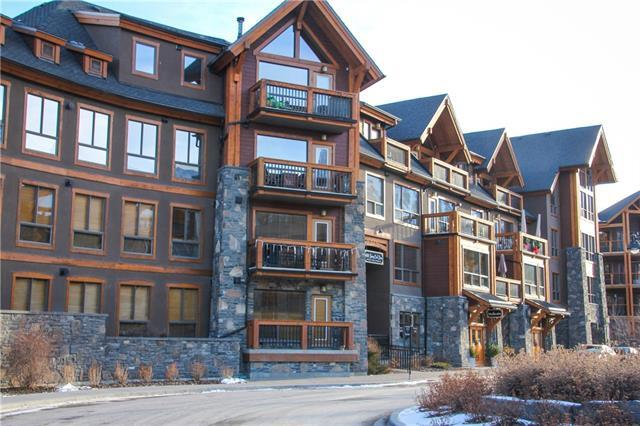 600 Spring Creek Drive #205, Canmore, AB T1W 0C8 (#C4219847) :: Redline Real Estate Group Inc