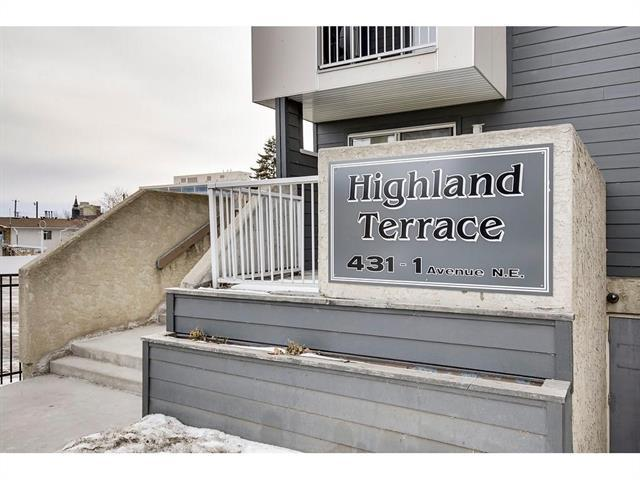 431 1 Avenue NE #204, Calgary, AB T3A 0X9 (#C4219915) :: Redline Real Estate Group Inc