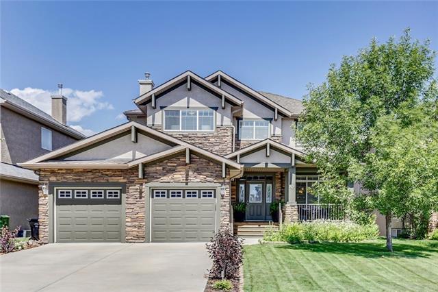 82 Evercreek Bluffs Road SW, Calgary, AB T2Y 4P2 (#C4219963) :: The Cliff Stevenson Group