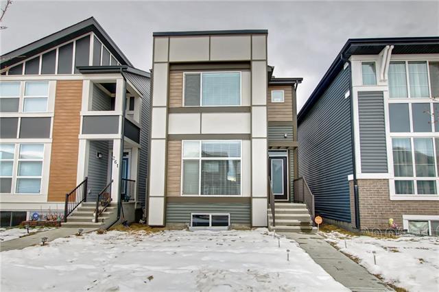 265 Cornerstone Passage NE, Calgary, AB T3N 1G3 (#C4220003) :: Tonkinson Real Estate Team