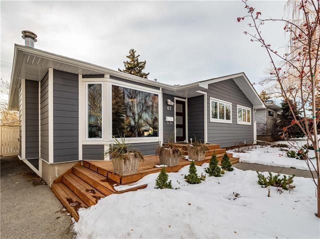 67 Westview Drive SW, Calgary, AB T3C 2R8 (#C4220053) :: Redline Real Estate Group Inc