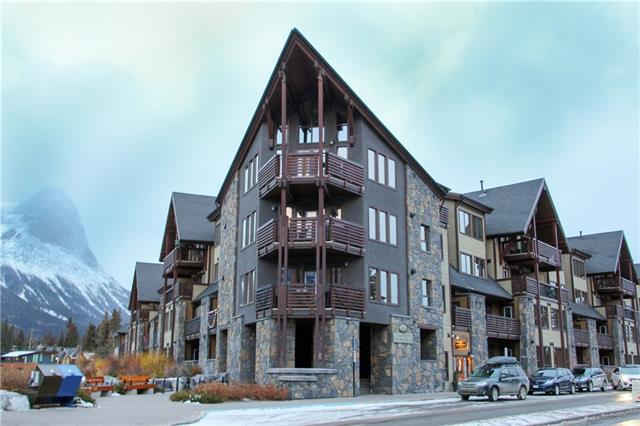379 Spring Creek Drive #110, Canmore, AB T1W 0G8 (#C4220165) :: Redline Real Estate Group Inc