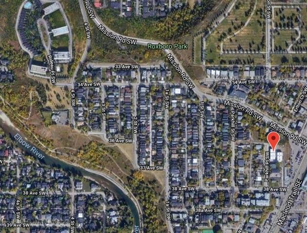 3800 Parkhill Place SW, Calgary, AB T2S 2W7 (#C4220872) :: Calgary Homefinders
