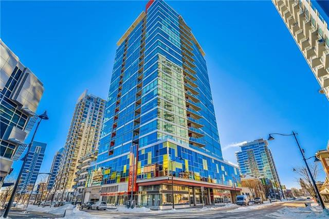 135 13 Avenue SW #807, Calgary, AB T2R 0W8 (#C4220999) :: Canmore & Banff