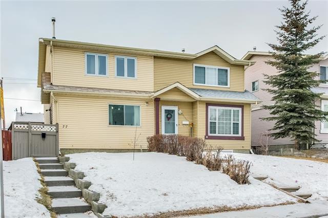 77 Castlebrook Way NE, Calgary, AB T3J 2A7 (#C4221219) :: Canmore & Banff