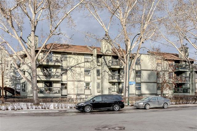 626 24 Avenue SW #306, Calgary, AB T2S 0K6 (#C4221287) :: Canmore & Banff
