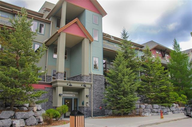 109 Montane Road #303, Canmore, AB T1W 3J2 (#C4221336) :: Calgary Homefinders