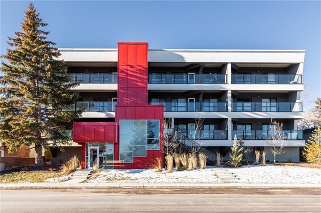 1629 38 Street SW #201, Calgary, AB T3C 1T8 (#C4221394) :: Canmore & Banff