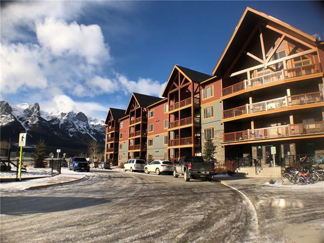 300 Palliser Lane #117, Canmore, AB T1W 0H5 (#C4221571) :: Canmore & Banff