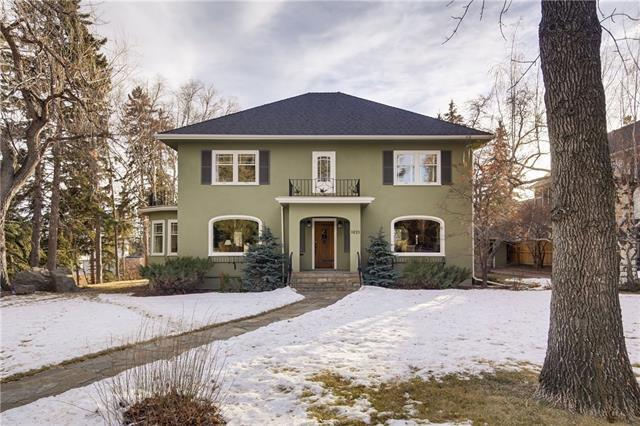 1021 Hillcrest Avenue SW, Calgary, AB T2T 0Z3 (#C4221618) :: Canmore & Banff