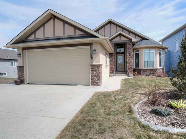 80 Lakes Estates Circle, Strathmore, AB T1P 1K3 (#C4221619) :: Redline Real Estate Group Inc