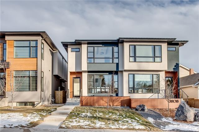 3806 Parkhill Street SW, Calgary, AB T2S 2Z6 (#C4221669) :: Calgary Homefinders