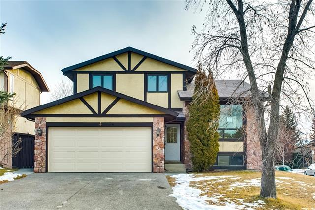 4 Hawkfield Place NW, Calgary, AB T3G 1Z7 (#C4221699) :: The Cliff Stevenson Group