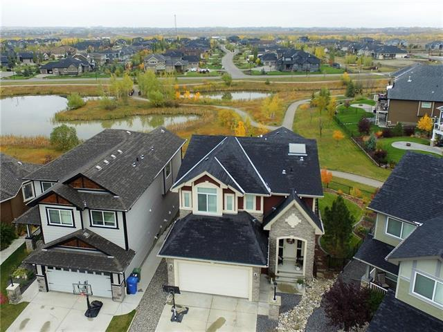 24 Cimarron Springs Way, Okotoks, AB T1S 0J3 (#C4221713) :: The Cliff Stevenson Group