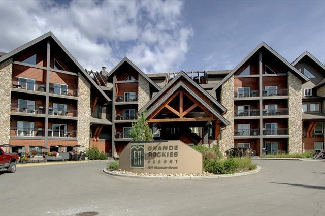 901 Mountain Street #328, Canmore, AB T1W 0C9 (#C4221736) :: Calgary Homefinders