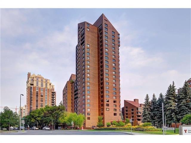 500 Eau Claire Avenue SW 701D, Calgary, AB T2P 3R8 (#C4221798) :: Canmore & Banff