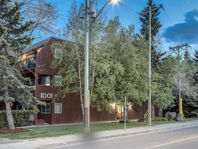 1001 68 Avenue SW #102, Calgary, AB T2V 4X1 (#C4221985) :: Redline Real Estate Group Inc