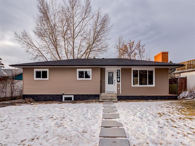 6423 Dalton Drive NW, Calgary, AB T3A 1E1 (#C4222258) :: Canmore & Banff