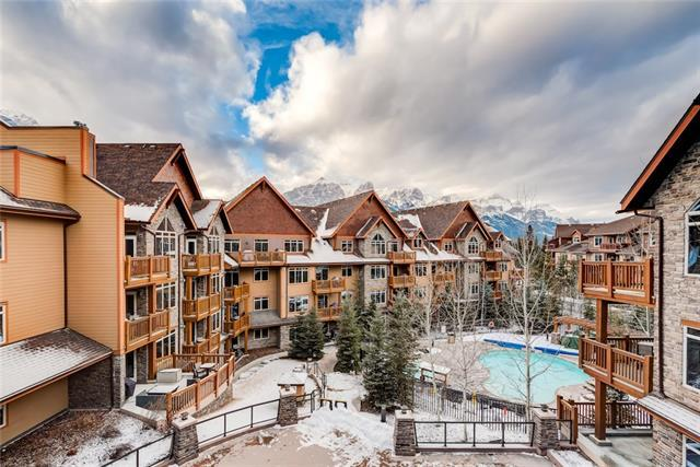 30 30 Lincoln Park Park #413, Canmore, AB T1W 3E9 (#C4222315) :: Calgary Homefinders
