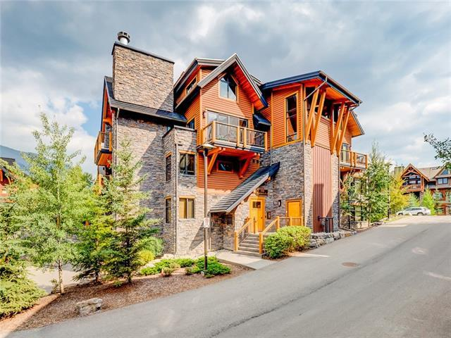101G Stewart Creek Landing #7105, Canmore, AB T1W 0E3 (#C4222484) :: Redline Real Estate Group Inc