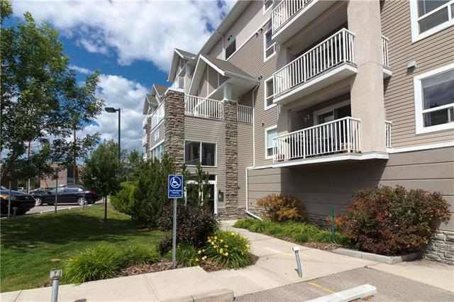 128 Centre Avenue #204, Cochrane, AB T4C 2K5 (#C4222539) :: Redline Real Estate Group Inc