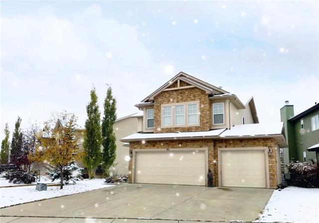 80 Crystal Green Drive, Okotoks, AB T1S 2N8 (#C4222971) :: Redline Real Estate Group Inc