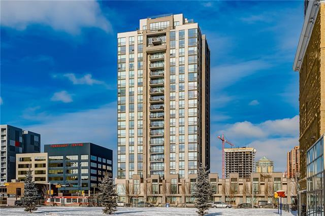 1110 11 Street SW #705, Calgary, AB T2R 1S5 (#C4223091) :: Calgary Homefinders