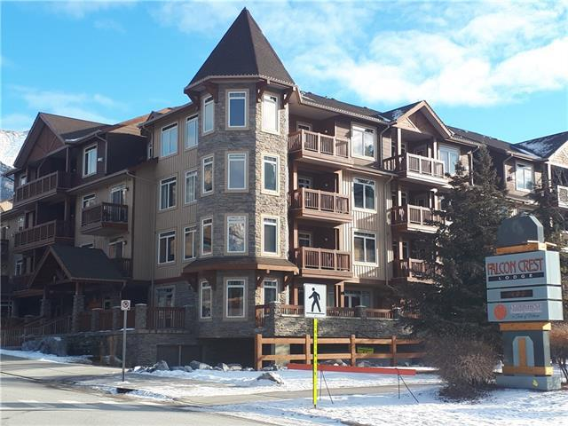 190 Kananaskis Way Way #125, Canmore, AB T1W 1A3 (#C4223553) :: Calgary Homefinders