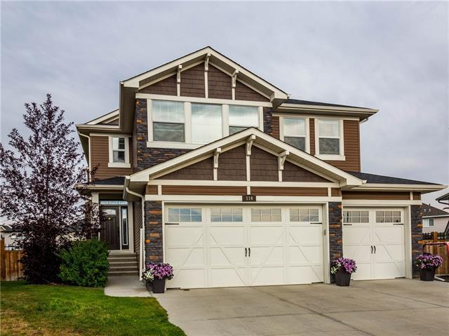 114 Drake Landing Terrace, Okotoks, AB T1S 0H1 (#C4223567) :: The Cliff Stevenson Group