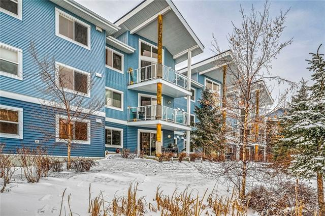 380 Marina Drive #111, Chestermere, AB T1X 0B8 (#C4223803) :: Canmore & Banff