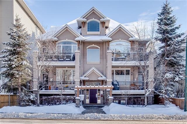 824 10 Street NW #2, Calgary, AB T2N 1W4 (#C4223925) :: Redline Real Estate Group Inc