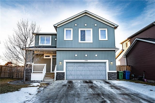 136 West Creek Green, Chestermere, AB T1X 0B4 (#C4224025) :: Calgary Homefinders