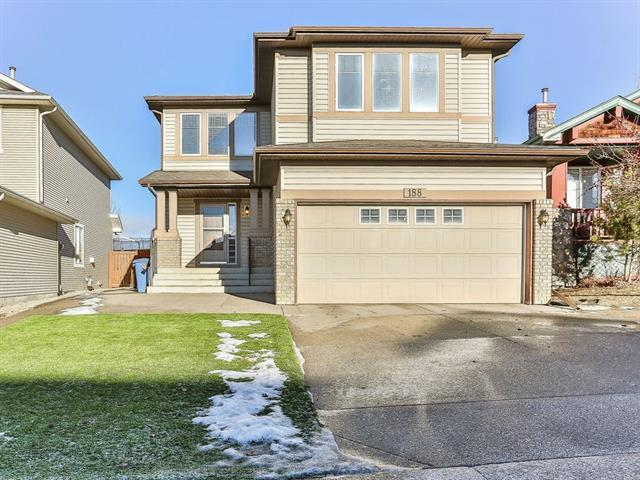 188 Hidden Creek Road NW, Calgary, AB T3A 6L7 (#C4224097) :: Redline Real Estate Group Inc