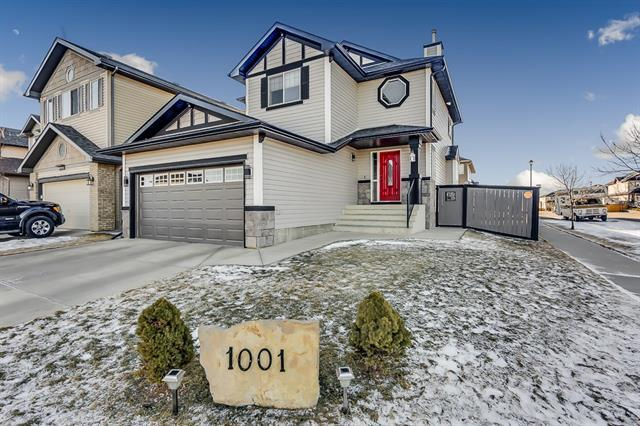 1001 Channelside Way SW, Airdrie, AB T4B 3H9 (#C4224159) :: Redline Real Estate Group Inc