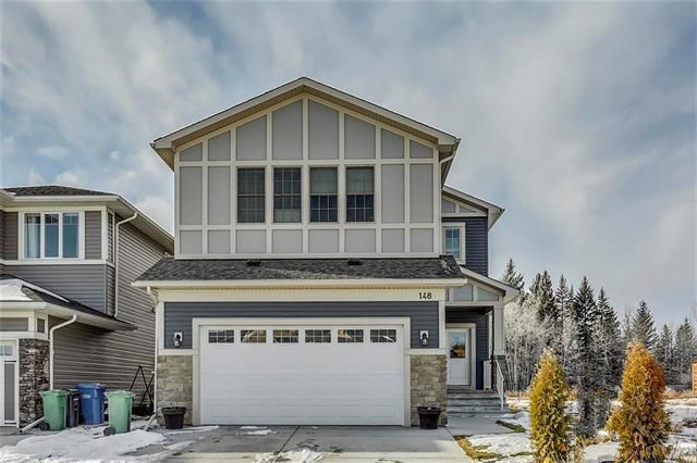 148 Sheep River Cove, Okotoks, AB  (#C4224221) :: Redline Real Estate Group Inc