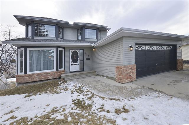 711 High Country Drive NW, High River, AB T1V 1P7 (#C4224333) :: Calgary Homefinders