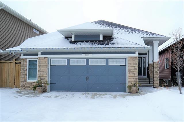 100 Mount Rae Heights, Okotoks, AB T1S 0P1 (#C4224432) :: Calgary Homefinders
