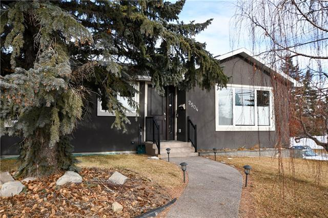 2504 Charlebois Drive NW, Calgary, AB T2L 0T6 (#C4224484) :: The Cliff Stevenson Group
