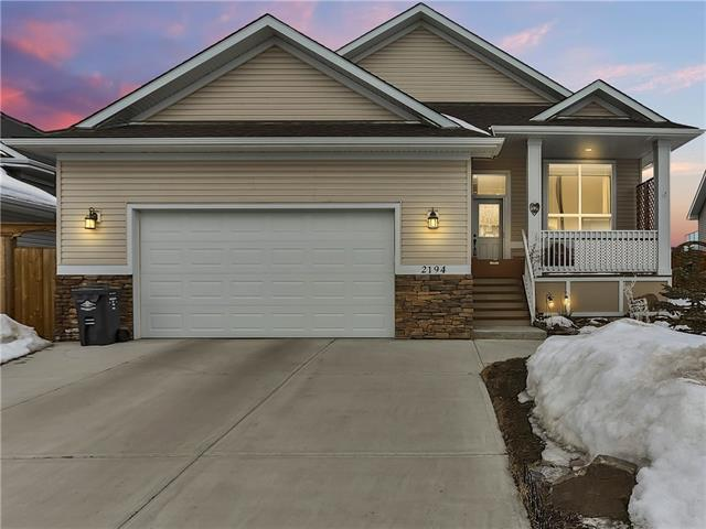 2194 High Country Rise NW, High River, AB T1V 0E2 (#C4224878) :: Calgary Homefinders