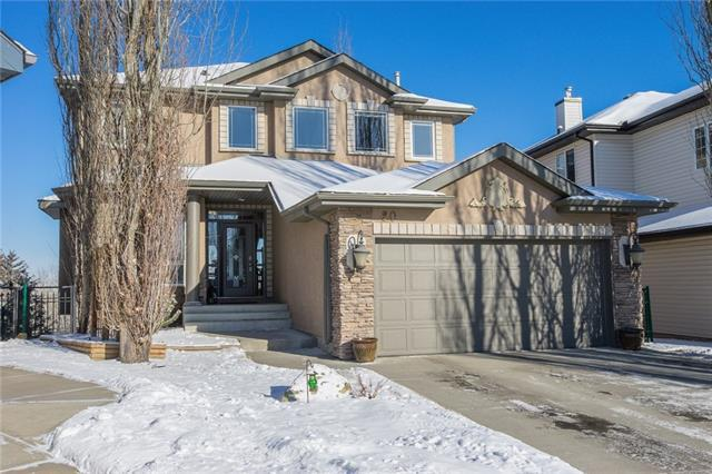 20 Valley Crest Gardens NW, Calgary, AB T3B 5W8 (#C4225199) :: The Cliff Stevenson Group