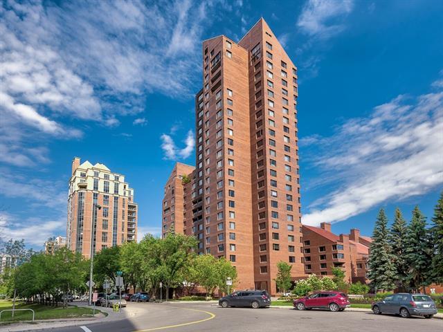 500 Eau Claire Avenue SW 702E, Calgary, AB T2P 3R8 (#C4225235) :: Redline Real Estate Group Inc