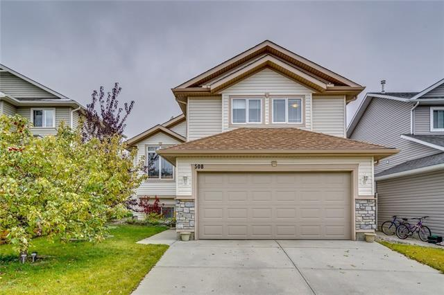 508 Tanner Drive SE, Airdrie, AB T4A 2E7 (#C4225461) :: Redline Real Estate Group Inc