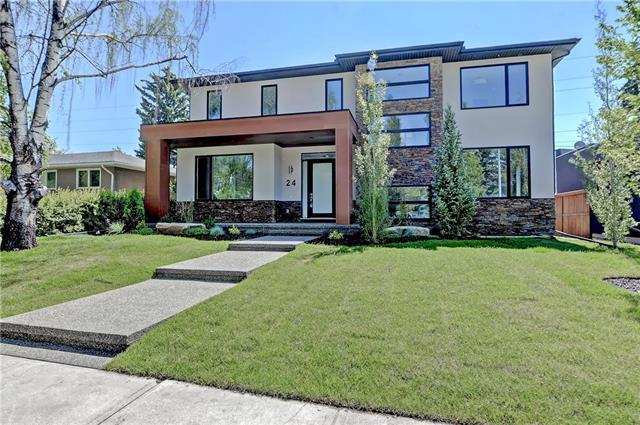24 Lorne Place SW, Calgary, AB T3E 5P6 (#C4225479) :: Canmore & Banff
