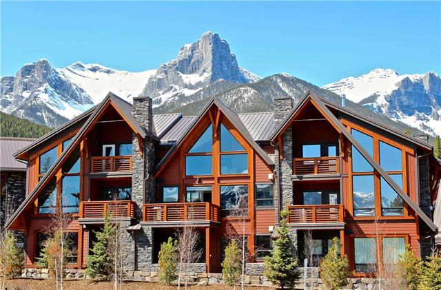 2100C Stewart Creek Drive #203, Canmore, AB T1W 0G3 (#C4225502) :: Redline Real Estate Group Inc