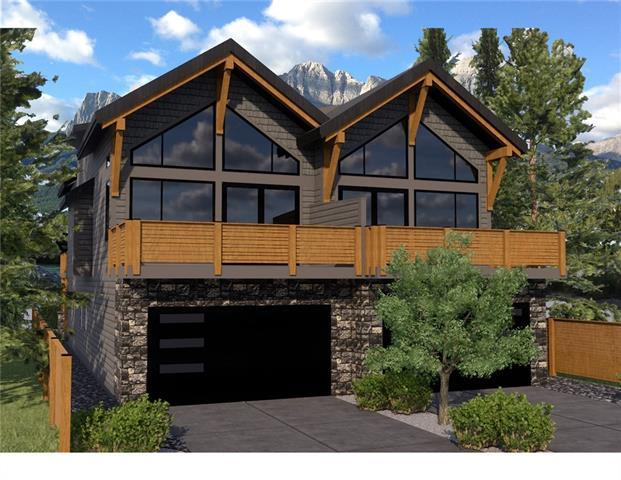 529 4th Street A, Canmore, AB T1W 2G6 (#C4225555) :: Redline Real Estate Group Inc