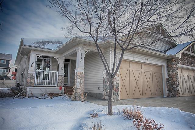 116 Sunset Square, Cochrane, AB T4C 0H4 (#C4225732) :: Redline Real Estate Group Inc