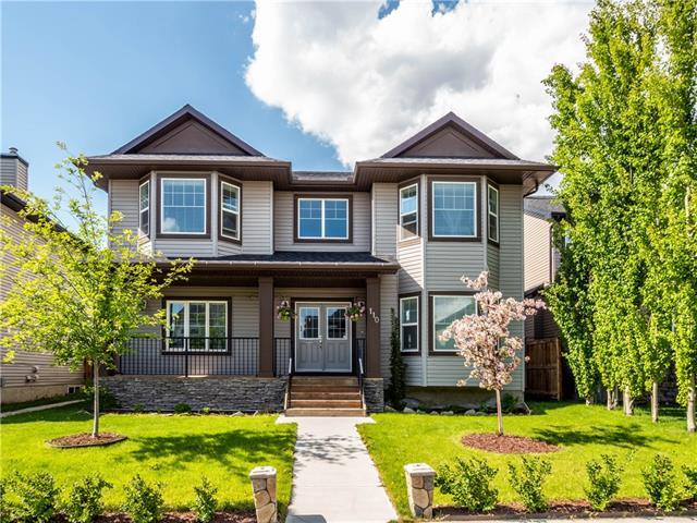 110 Channelside Common SW, Airdrie, AB T4B 3J3 (#C4225798) :: Canmore & Banff