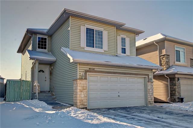 8230 Saddleridge Drive NE, Calgary, AB T3J 4K7 (#C4225807) :: Canmore & Banff